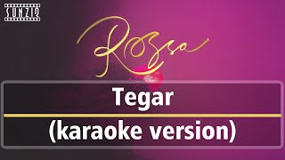 Download Mp3 Rossa - Tegar  Karaoke Version + Lyrics  No Vocal #sunziq