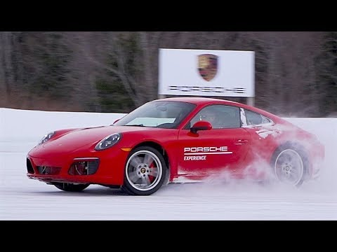 Porsche 911 In The Snow-THE PORSCHE ICE EXPERIENCE