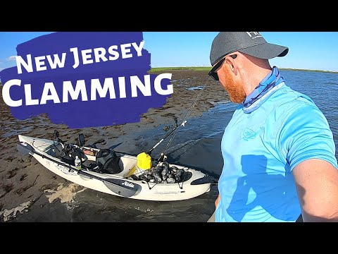 Clamming In New Jersey And How To Salt Clams For Bait