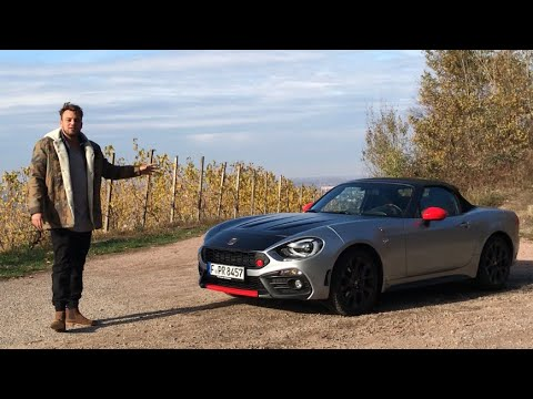 2018 Abarth 124 Spider Roadstercabrio Fahrbericht Review Test