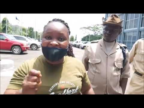 Liberia Court Workers Protest at Temple of Justice - LB ONLINE TV