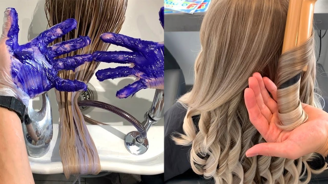 [VIDEO] - Best Hairstyles Tutorials - Top Hair Color Trends & Ideas for 2019 8