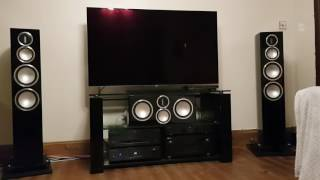 Cambridge Audio 851N Streamer with 851W and MA Gold 300
