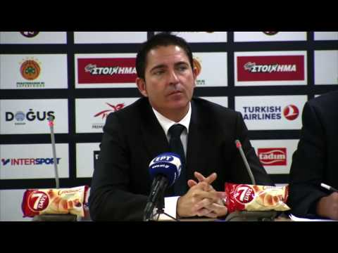 Euroleague Post - Game Press Conference: Panathinaikos Superfoods vs Crvena Zvezda