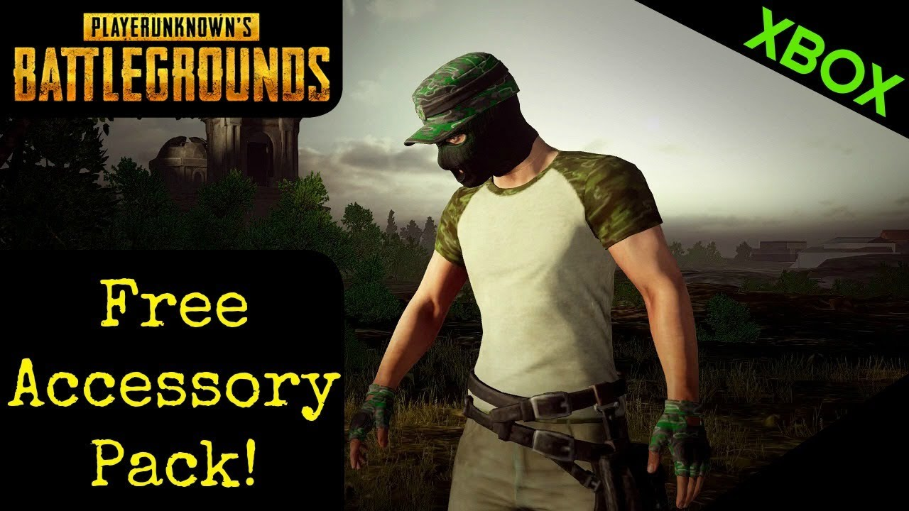 PUBG Free Accessory Pack! Xbox One (Expired)