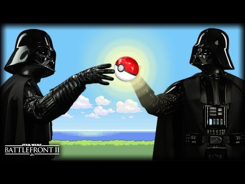 Star Wars Battlefront 2 - Funny Gameplay Moments (Pokemon Nostalgia!)