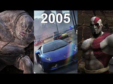 Во что мы играли в 2005 году. Лучшие игры 2005!!!