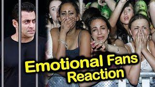 Salman Khan's EMOTIONAL FANS Reaction on 5 Years Jail | Blackbuck Poaching Case
