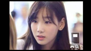 SNSD Taeyeon apologizes to fans at the airport for dating EXO