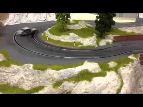 slot track coppa Dolomiti , porsche 997 nsr drift (molettaring