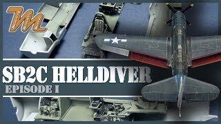 Deel 1 - SB2C-4 Helldiver - 1/72 - schaalmodel stap voor stap bouwen