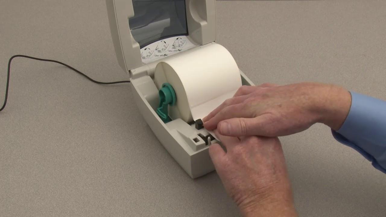 Zebra GC420D Preparing your printer for use