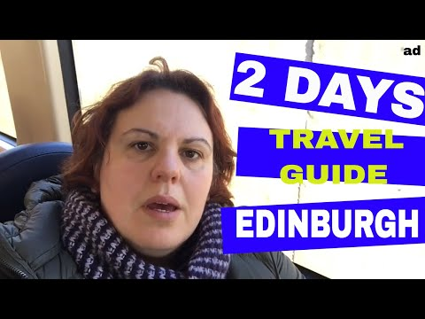 2 Day Travel Guide for Visiting Edinburgh with Expedia