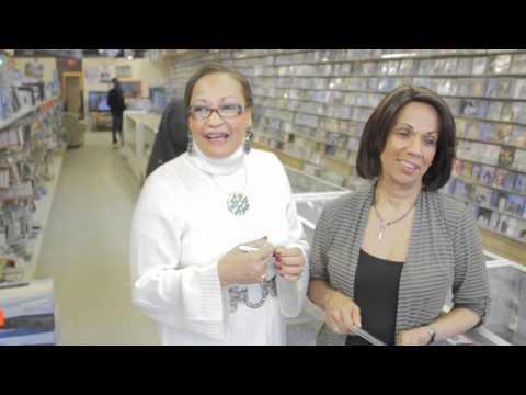 "Jocelyne Dorisme CD ""Yon Chans"" in Store CD Signing Montreal Canada @ Polytronic Music Store"
