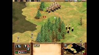 Age of Empires 2 Genghis Khan Mission 1