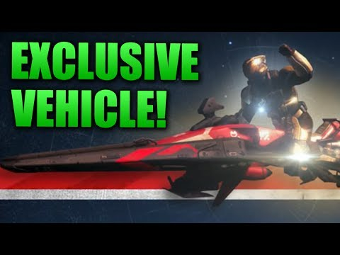 "Destiny: ""Red Sparrow"" GameStop EXCLUSIVE Vehicle from Pre-order"