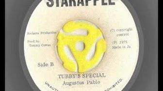 augustus pablo - pablo's satta - king tubby's special - starapple records 1975