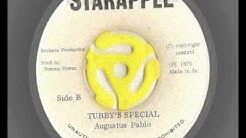augustus pablo - pablo's satta - king tubby's special - starapple records 1975