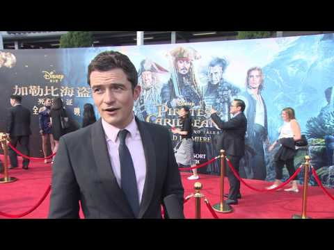 Pirates Of The Caribbean Dead Men Tell No Tales Shanghai Premiere Orlando Bloom