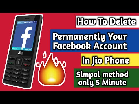 How to delete facebook chat in jio phone