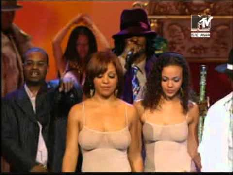 50 Cent feat  Snoop Dog, G Unit   P I M P  live @ VMA 2003