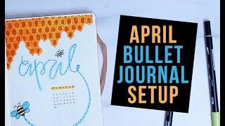 APRIL 2018 BULLET JOURNAL SET UP | PLAN WITH ME