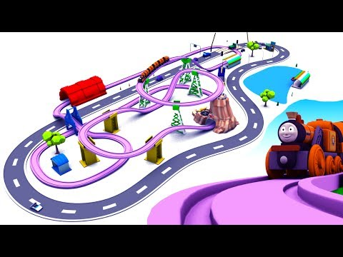 toy train videos for children - train for kids - train videos - chu chu train -  train cartoon