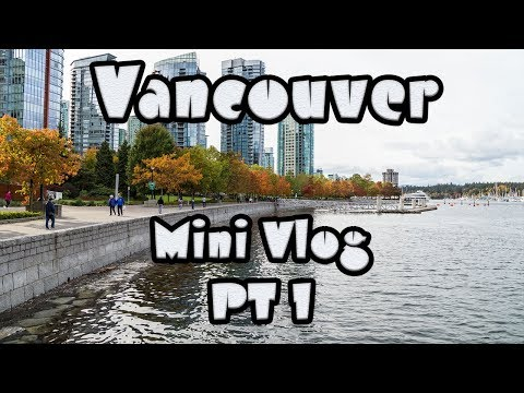 Moo Mini Vlog - Vancouver: Canada Place PT 1