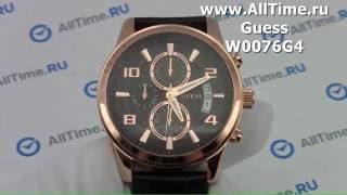 Обзор. Мужские наручные часы Guess W0076G4 с хронографом(, 2016-05-24T17:11:41.000Z)