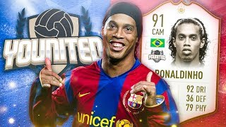 FIFA 19: YOUnited Icon Ronaldinho #4 - LIVERPOOL oder MANCHESTER CITY?