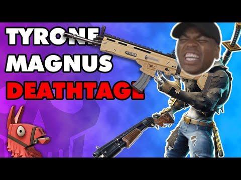 Tyrone Magnus Fortnite Rage Compilation!!!