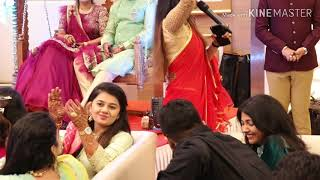 Best Anchor Shreya having interactions with guests at sangeet