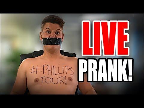 SUPER LIVE ** PRANK! **