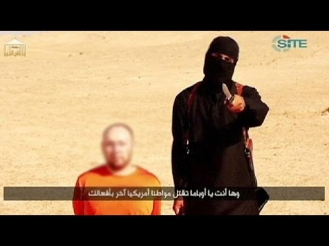 US expresses disgust as Islamic State 'kills' second hostage, September 3, 2014 - euronews (in English)  - uKaNR5lwrpg -