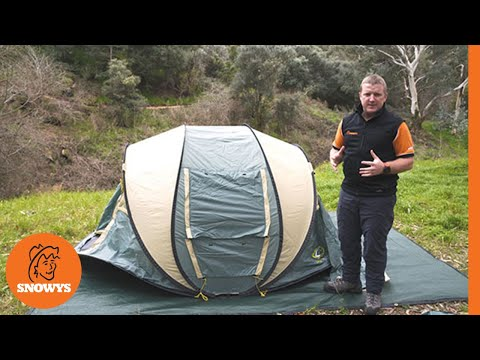 Outdoor Connection Easy Up 3 Pop Up Tent
