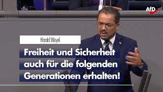 Harald Weyel zur Öko-Diktatur der EU
