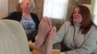 Feet soles Granny