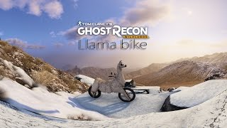 [Ghost Recon Wildlands - Narco Road]  New, 3rd, Llama bike (Lorenzo bike) Easter Egg spawn location