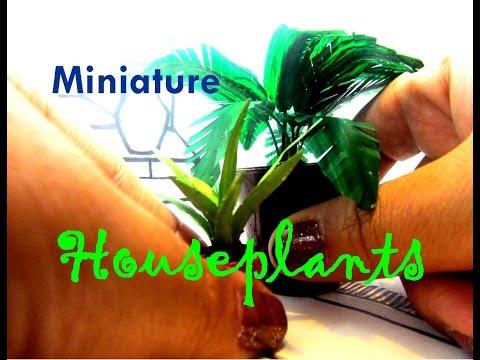 Easy REALISTIC DIY Dollhouse Miniature Plants