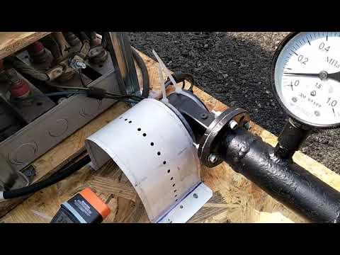 Анонс. Испытания микро турбины Тесла с  электрогенератором 4,5 кВт.