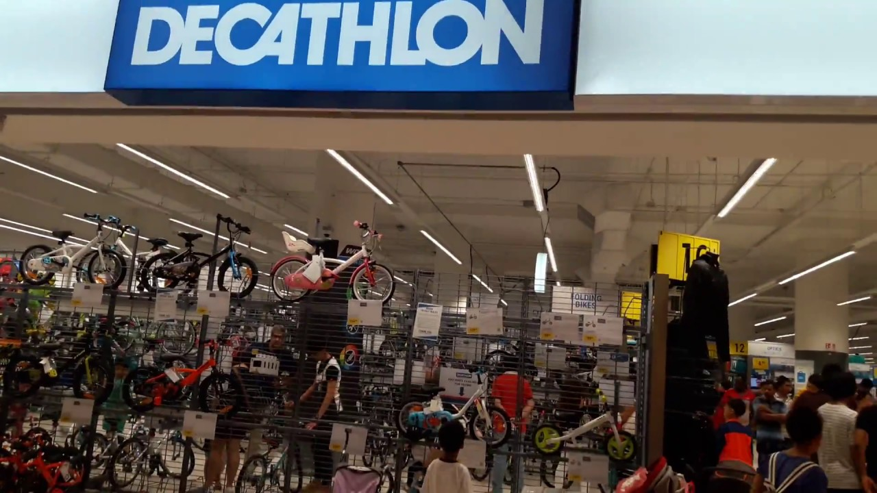 Decathlon On Flagship Store Tour At City Square Mall Youtube
