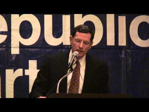 Senator John Barrasso (R-WY) at the 2013 Missouri Lincoln Days