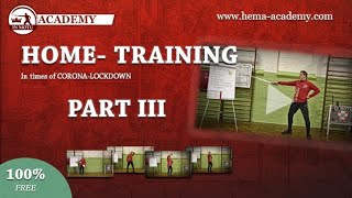 CORONA HOMETRAINING Part III