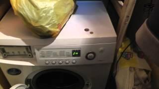 Стиральная машина samsung F1043 ремонт. 1 видео(Причина и следствие! Сломался насос от 60 коп, проржавел сальник и подшипник. В итоге буду менять., 2015-01-06T01:10:04.000Z)