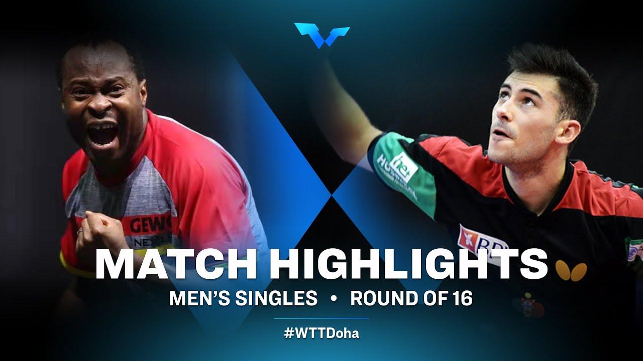 Download ARUNA Quadri vs Joao Geraldo | WTT Contender Doha 2021 | Men's Singles | R16 Highlights