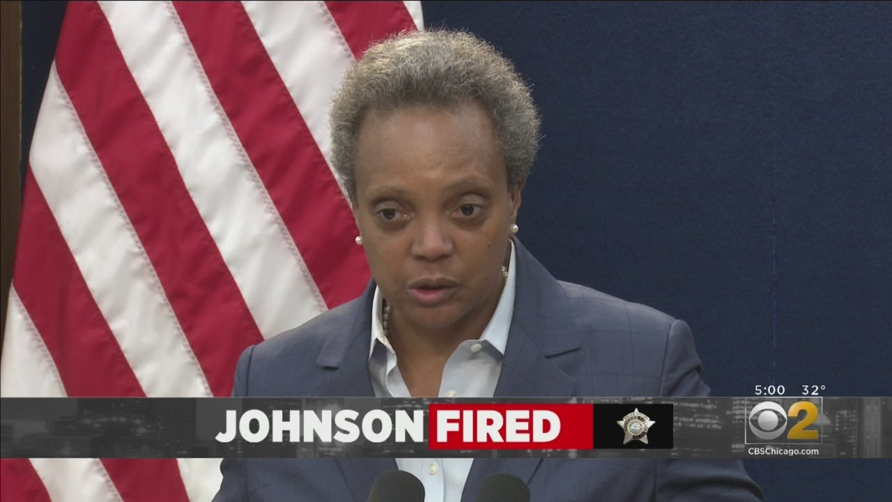 Chicago Mayor Fires Police Superintendent Eddie Johnson Before He Could Retire [VIDEO]