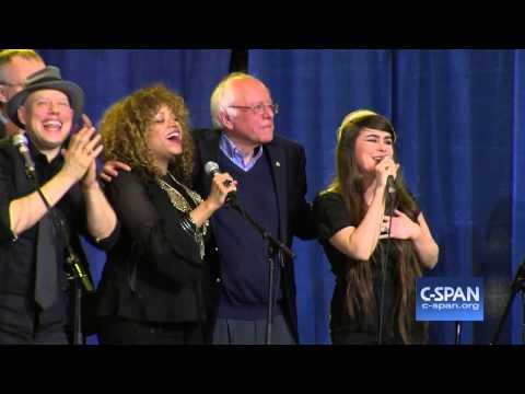 """Bernie Sanders Sings """"This Land Is Your Land"""" (C-SPAN)"""