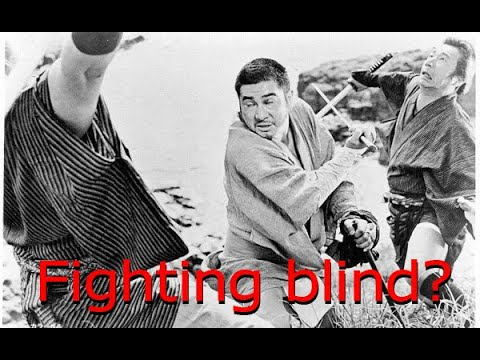 Can you sword fight while blind?