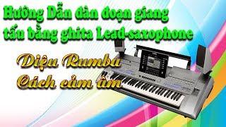 Hướng dẫn đàn đoạn giang tấu Ghita Lead- Ghita Lead--Điệu Rumba-Cách cảm âm