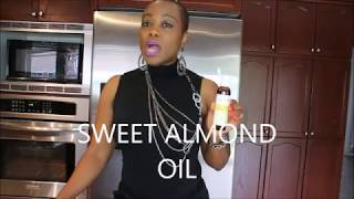 BENEFITS OF SWEET ALMOND OIL, /STRETCH MARK/ACNE/ WRINKLES. Part 1
